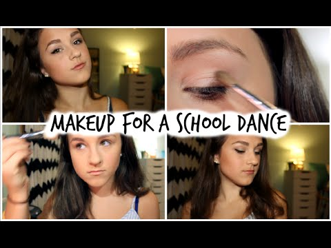 Makeup For A School Dance | Sara