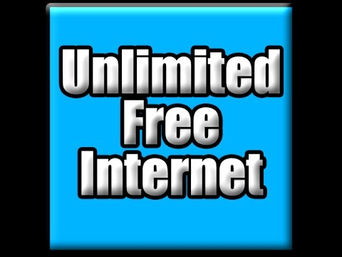 How to get FREE INTERNET and WIFI ANYWHERE in the WORLD! [2017]