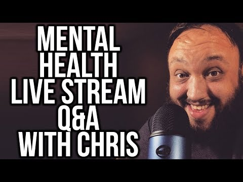 ASK YOUR MENTAL HEALTH QUESTIONS AND HANG OUT! Q&A 5:00PST 5/27