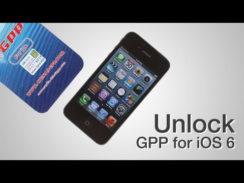 GPP iOS 6 Sprint Verizon - How to unlock CDMA iPhone 4S