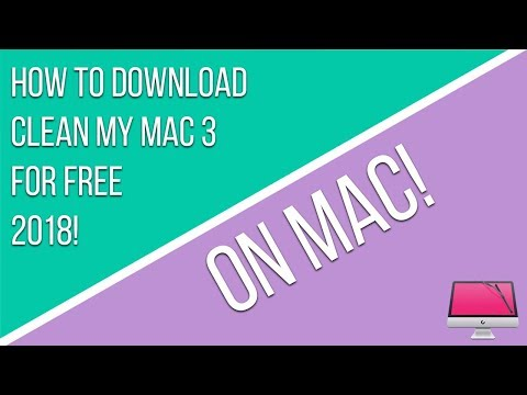 How To Download Clean My Mac 3 For Free 2018 On Mac!