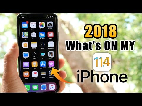 What's on My iPhone | early 2018