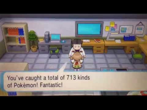 Pokemon ORAS- National Dex Complete/Getting the Shiny Charm