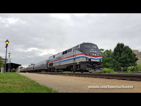 Amtrak Northeast Regional Train No. 67 with P42DC No. 145 Phase III