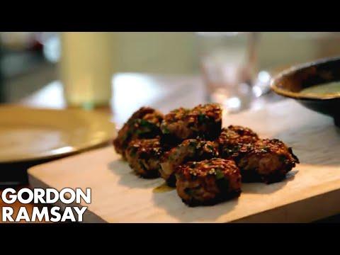 Lamb Koftas with Beetroot Hummus   Gordon Ramsay