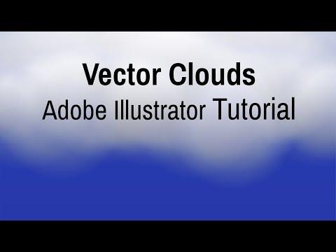 Vector Clouds - Adobe Illustrator Tutorial