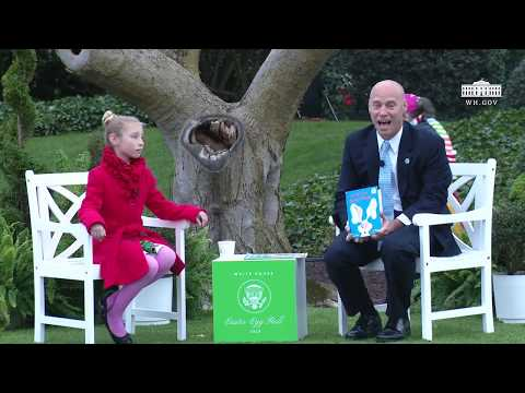 White House Easter Egg Roll: Reading Nook with Director of Legislative Affairs Marc Short