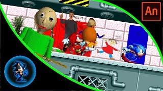Team Sonic in Baldi