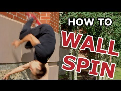 How To - Wall Spin TUTORIAL - Parkour for Beginners