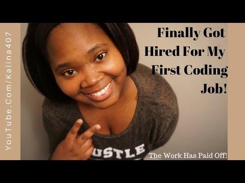 Finally got my first Coding Job!