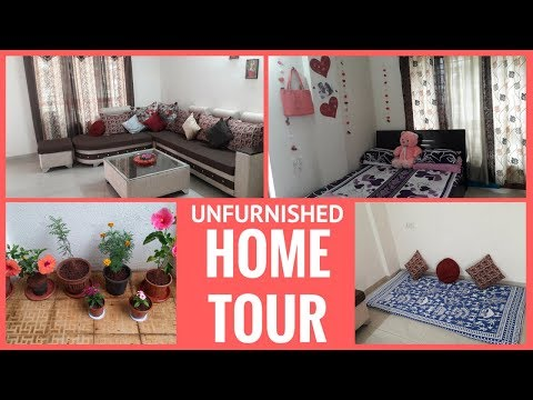 My Sweet Indian Home Tour|Unfurnished Middle Class Home Tour | Unfurnished  Rented Flat