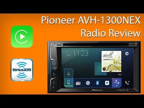 Pioneer AVH 1300 NEX Radio Review Demo