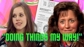 Jessa Duggar's Shocking Rejection of Michelle Duggar's CULT Homeschool Curriculum