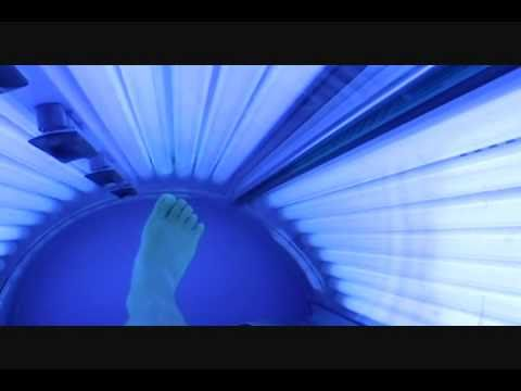 me in the tanning bed