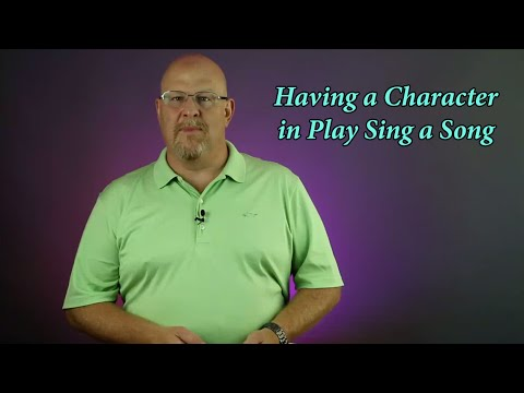 Having a Character in a Play Sing a Song (Grand Rights) - Entertainment Law Asked & Answered