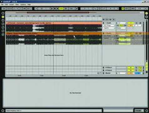 Ableton Tutorial - Making a DJ mix in Arrange window part 1