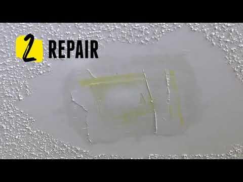 How To Repair A Ceiling - Homax Ceiling Texture