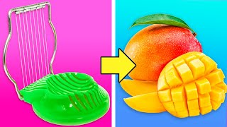 35 UNEXPECTED HACKS FOR FRUITS AND VEGETABLES