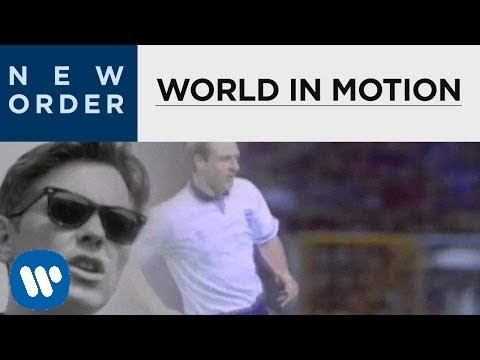 New Order - World In Motion [OFFICIAL MUSIC VIDEO]