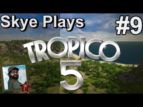 Tropico 5 Gameplay: #9 ► Living on Rum and Cocoa ◀ Complete Campaign Playthrough
