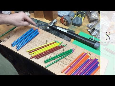 Turning Pencils into a Bottle Stopper