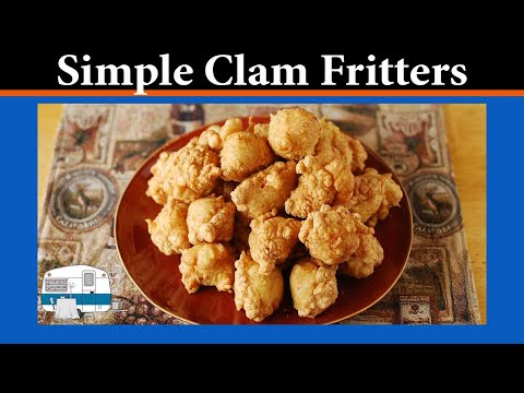 How to make Clam Fritters
