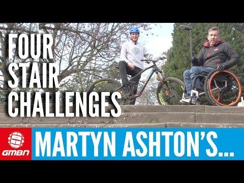 Martyn Ashton's Mountain Bike Stair Challenges | MTB Skills