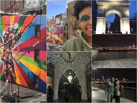 VLOG NOVA YORK dia 10 - High Line,  Chelsea Market, Washinton Square, Brooklyn,  Manhattan Iluminada