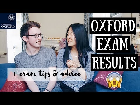 OPENING OXFORD EXAM RESULTS + EXAM TIPS  | viola helen