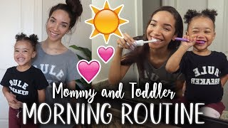 MORNING ROUTINE   Toddler & Single Mom!   RAVEN ELYSE