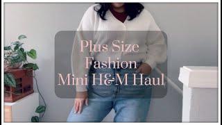 Plus Size Fashion- H&M mini Haul