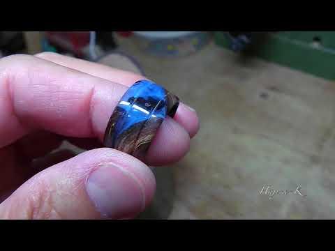 Wood Turning-Bonin Islands style(secret wood ring)