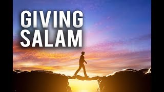 THE POWER OF GIVING SALAM