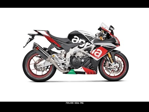 2016 APRILIA RSV4 QUICK SHIFTER AND AKRAPOVIC EXHAUST