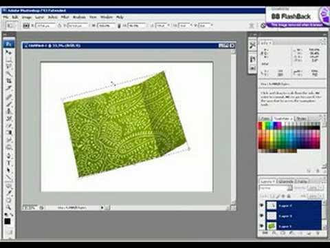 3D Flyers in Photoshop CS3