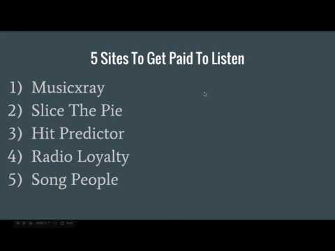 5 Ways To Get Paid To Listen To Music Online