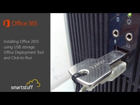 Install Office 2013 using USB storage and Click-to-Run
