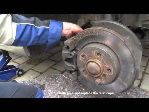BMW 3 Series E46 - Brake pad replacement - DIY