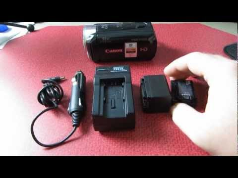 Canon Vixia HF R300 Camcorder Third Party Extended Life Battery Review