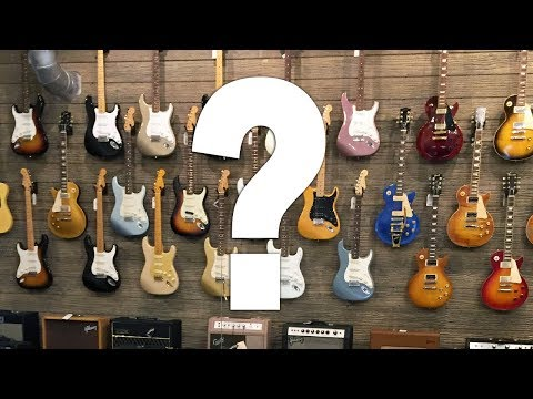 Are Guitar Stores Intimidating?