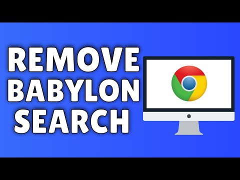 How To Remove Babylon Search From Google Chrome