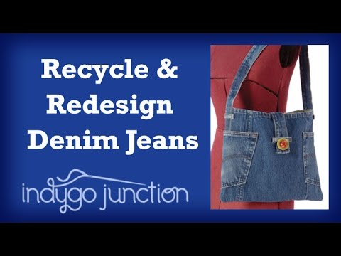 Recycle Denim Jeans with Amy Barickman & Indygo Junction