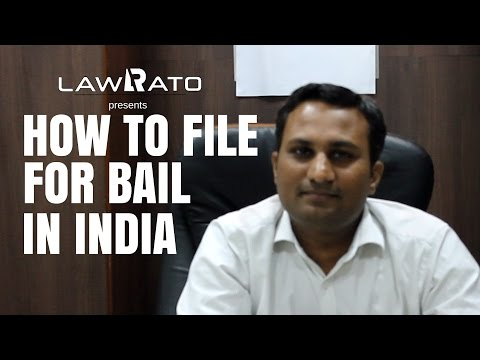 How to apply for bail in India