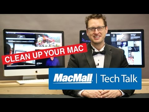 MacMall Tech Talk 12 – The Options You Have When Cleaning Up Your Mac