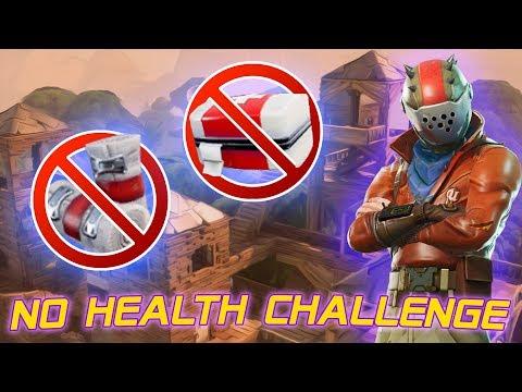 FORTNITE LOW HEALTH CHALLENGE ✅