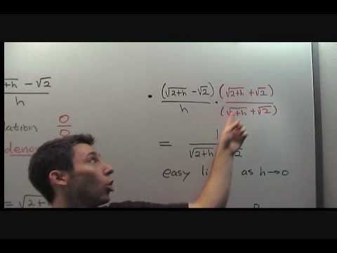 Evaluate Difference Quotient, 1