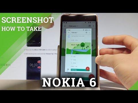 How to Take Screenshot on NOKIA 6 - Capture Screen |HardReset.Info