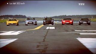 Défi : Porsche 911 vs Ferrari 458 Spider vs Corvette ZR1 vs Audi R8 vs Nissan GT-R