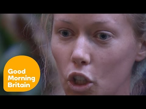 Kendra And Edwina's Argument In Im A Celebrity... | Good Morning Britain