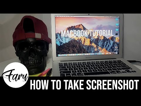 Tutorial Ep. 1: How to take screenshot using Macbook